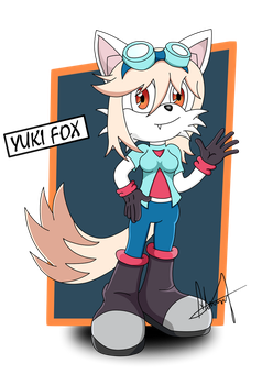 CONTEST - Yuki the Fox by Alfa Master by AlfaMaster