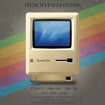 RetroMac Icon by B4lth4s4R