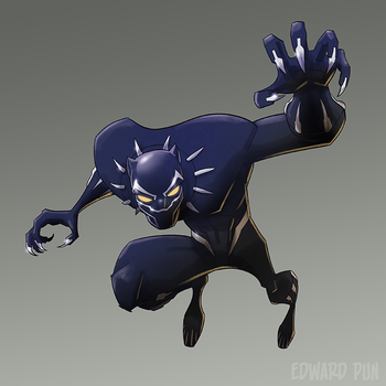 Black Panther by pungang