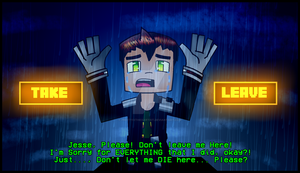 Minecraft Story Mode: TAKE or LEAVE? (SPOILERS!) by PrettyXTheXArtist