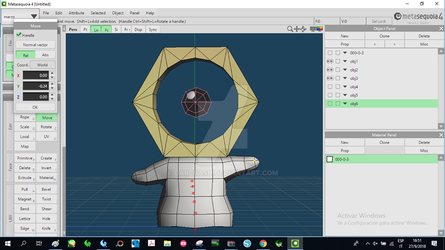 Meltan Pokemon W.I.P. by darcrash
