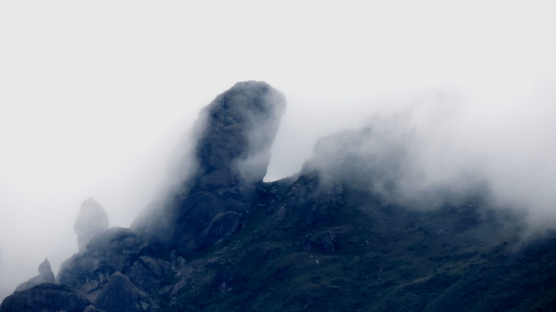 Itacolomi Peak - Fogged by TheSkyFx