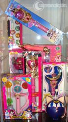 One of my Sailor Moon Toy Displays by onsenmochi