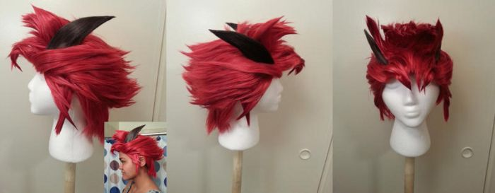 RWBY Adam Wig Commission by Hindari