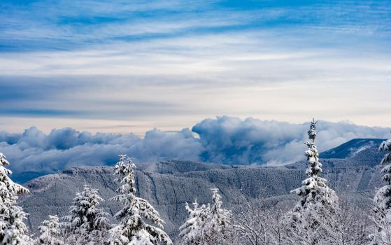 Winter tales from mountains III by RukarioNakamura