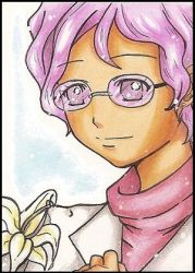ACEO Card 29 - Dr. Kobato by HoNeY-BITTER