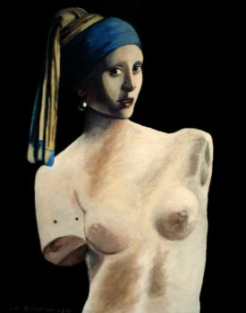 Venus With a Pearl Earring by AinuLaire