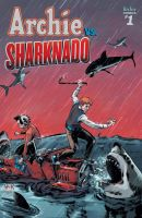 Archie VS Sharknado Variant Cover. by RobertHack