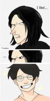 Snape and slashers lol by Julia-Kisteneva
