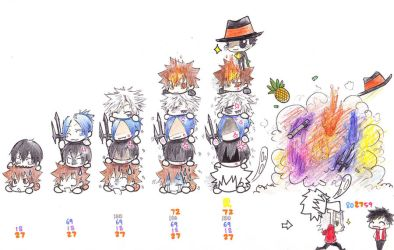 KHR All27 Pileup by anime-storm