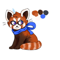 Bree the Red Panda .:Fursona:. by Memaiva