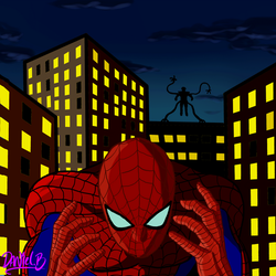 Spidey Sense by scribbleNscratch