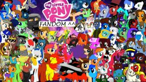 the brony fandom ^^ by Hellsingotaku18