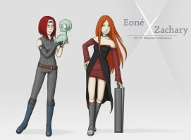Eone and Zachary by Stephany-Q-Vin