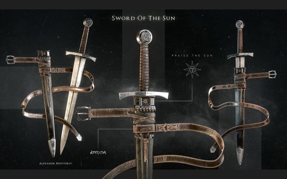 Sword of the Sun by Tigersfather