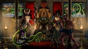 THE SNAKEMEN by Maxnethaal