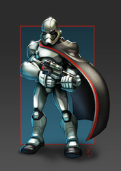 Captain Phasma by DazTibbles