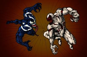 Venom vs Anti-Venom by thorup