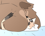 {NSFW WARNING} Big Anna the bear by MaskedSapphxire