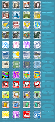 My Stamp Collection by howling