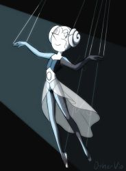 (Steven Universe Spoilers)- White Pearl by OtherVio
