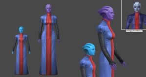 Asari Girl by nach77