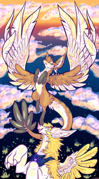 Soar above the sky if you try try try by SHIROHO