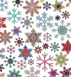 Snowflakes by WiccaSmurf
