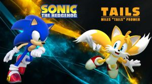Sonic and Tails - Wallpaper by Knuxy7789