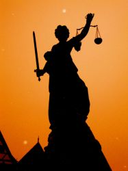 Justitia by singerofthelob