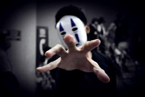 Reaching Creepiness - No Face by Lemnel24