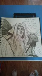 Sephiroth by Whitewolfsage