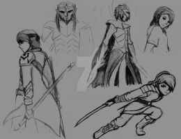 Random Character Designs ~ Set #2 by CaiusNelson