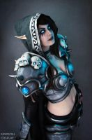Sylvanas -Heroes of the Storm by Kinpatsu-Cosplay