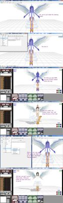 How to make MMD models move with their clothes by Koko-Arts13