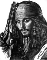 Pirate drawing 2 by moisessurielart