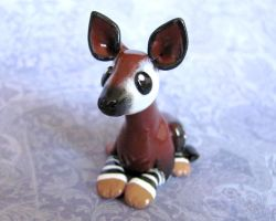 Little Okapi by DragonsAndBeasties