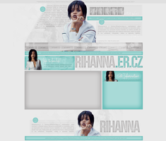 Rihanna.er.cz - Ordered Layout by lenkamason