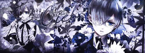 Ciel Phantomhive | Portada by Butterth
