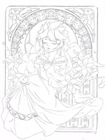 Mere des Etoiles .:Lineart:. by Angelic-Blossoms