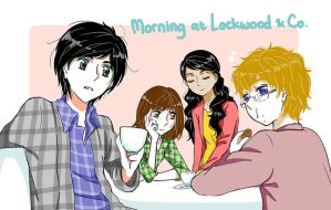 Morning at Lockwood and Co by MugenMusouka