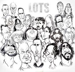 The Cast Of Lost, Caricatured by drawacrowdau