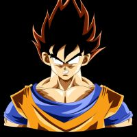 Goku - False super saiyan form by b36one