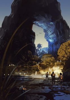 Trekkers - Worldview Sci-Fi Art Book by JamesLedgerConcepts