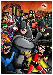 Batman the Animated Series Tribute. by Joker-laugh