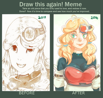 Draw It Again Meme by Zeighous