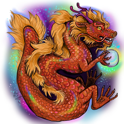 Chinese Zodiac Year of the Dragon by Shadowind