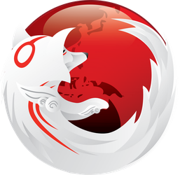 Okami Firefox Icon by TheAverageGeek