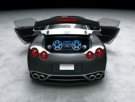 Nissan GTR Tuned 2 by LucianP