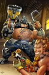Roadhog n Junkrat Overwatch Art